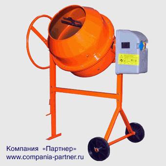 Бетоносмеситель с объемом барабана 190 литров